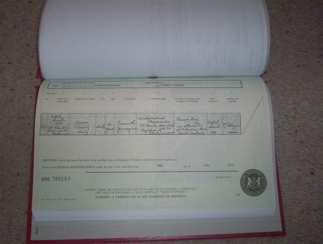 certificate-evidence